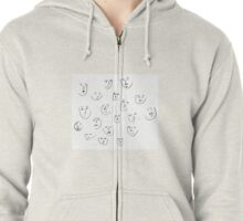 Chit Chat Zipped Hoodie