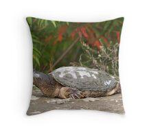 Gigantasaurus Throw Pillow