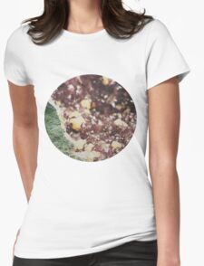 Lilac and Violet Womens Fitted T-Shirt