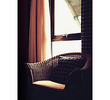 Wicker by the Window Photographic Print