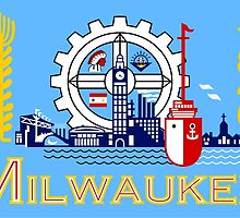 Flag of Milwaukee  by abbeyz71