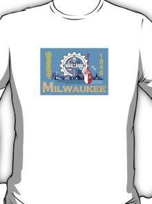 Flag of Milwaukee  T-Shirt