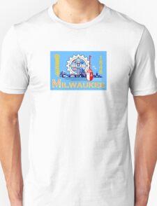 Flag of Milwaukee  Unisex T-Shirt