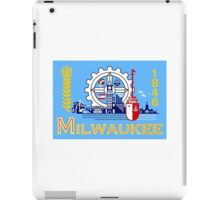 Flag of Milwaukee  iPad Case/Skin