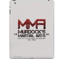 MMA - Murdock's Martial Arts (V02) iPad Case/Skin