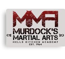 MMA - Murdock's Martial Arts (V02) Canvas Print