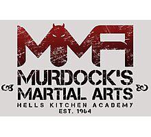 MMA - Murdock's Martial Arts (V02) Photographic Print