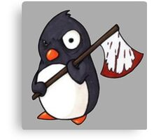 Angry Penguin Canvas Print