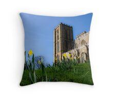ripon cathedral Throw Pillow