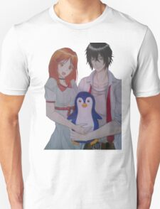Character Drawing couple penguin T-Shirt