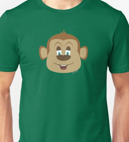 Cartoon Monkey Unisex T-Shirt