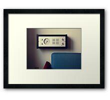 7:35 Framed Print
