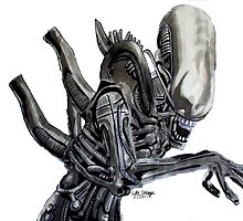 Alien - Ink by Luke Tomlinson