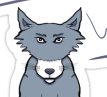 Lonely Wolf Sticker