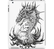 Regal Dragon - ink iPad Case/Skin