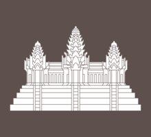Angkor Wat Ver.2.0 Khmer Temple Kids Clothes