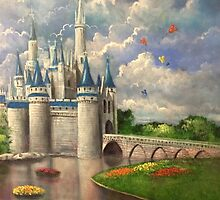 Castle of Dreams by Randy  Burns