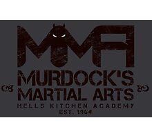 MMA - Murdock's Martial Arts (V03) Stealth Photographic Print