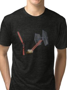 TIE Fighter Tri-blend T-Shirt