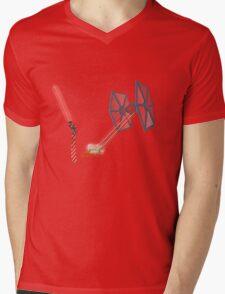 TIE Fighter Mens V-Neck T-Shirt