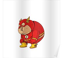 flash fat Poster