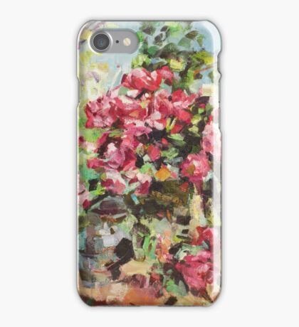 Korovin Roses 1917 (author's copy) iPhone Case/Skin