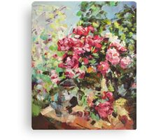 Korovin Roses 1917 (author's copy) Canvas Print
