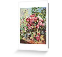 Korovin Roses 1917 (author's copy) Greeting Card