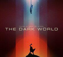 THOR vs MAN OF STEEL : The Dark World by Ibrahim Oubahmane