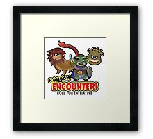 Random Encounter Framed Print