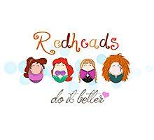 Red Head Disney Ladies Photographic Print