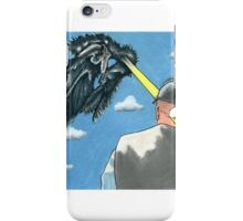 A Laser Eye from North Beach iPhone Case/Skin