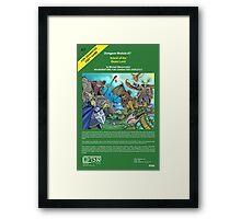 Fantasy Module 3 Framed Print