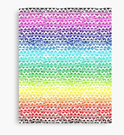 mosaic stripes Canvas Print