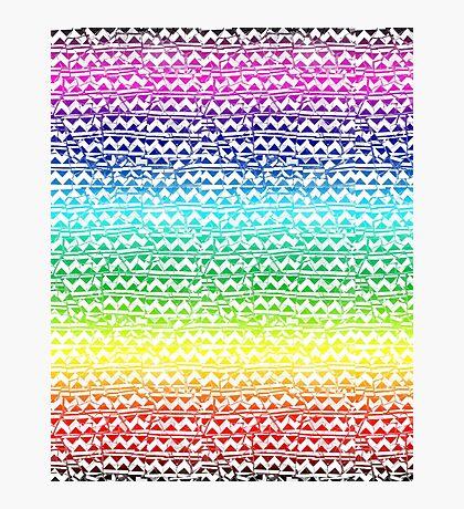mosaic stripes Photographic Print