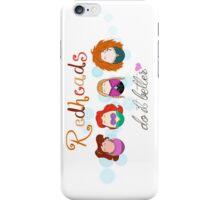 Red Head Disney Ladies iPhone Case/Skin