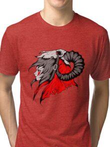 Kundalini: Warrior of Amun Ra Tri-blend T-Shirt