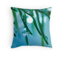Icy Breeze.  Throw Pillow