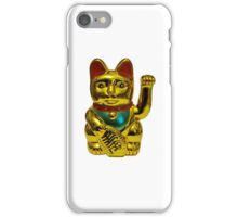 Chinese lucky cat iPhone Case/Skin