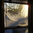 Sunrise Through Ice Crystals by AlteriorMotives