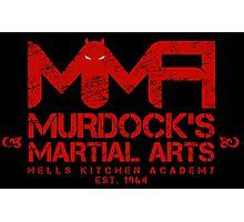 MMA - Murdock's Martial Arts (V04 - Bloodred) Photographic Print
