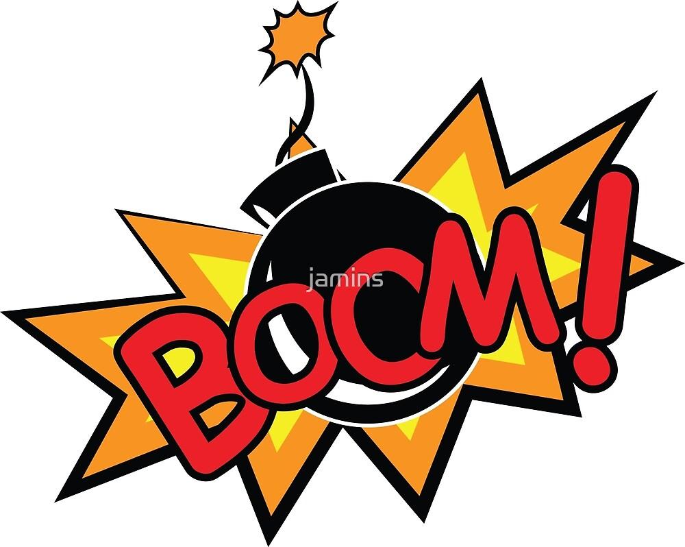 Quot Boom Bomb Cartoon Quot By Jamins Redbubble