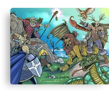 Fantasy Art 3 Canvas Print