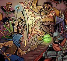 Fantasy Art 4 by WarpZoneGraphic