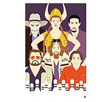 Around The Dude (Faces & Movies) Photographic Print