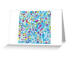 color hiving Greeting Card