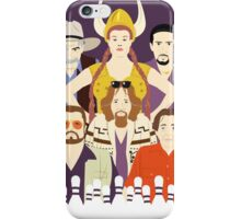Around The Dude (Faces & Movies) iPhone Case/Skin