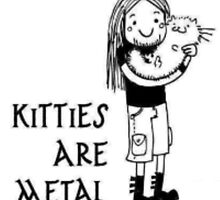 Kitties Are Metal by hillycopter