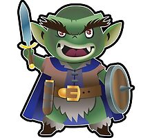 a Goblin by WarpZoneGraphic