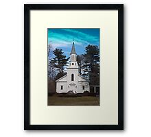 Little Country Church Framed Print